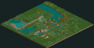 Six Flags Holland RCT2