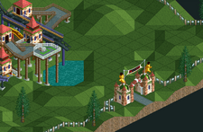 how to change admission price on roller coaster tycoon mobile