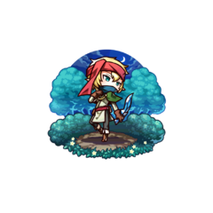 An Elven Scout (Male) in the mobile game