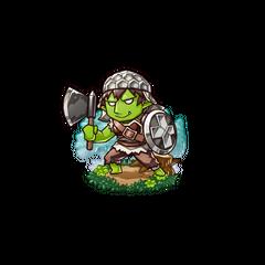 Gobukichi as a Hobgoblin in the mobile game