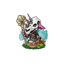 The Kobold Mage in the mobile game
