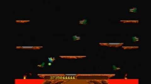 Joust (Arcade) Gameplay