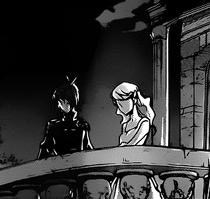 Daemon meets Elena