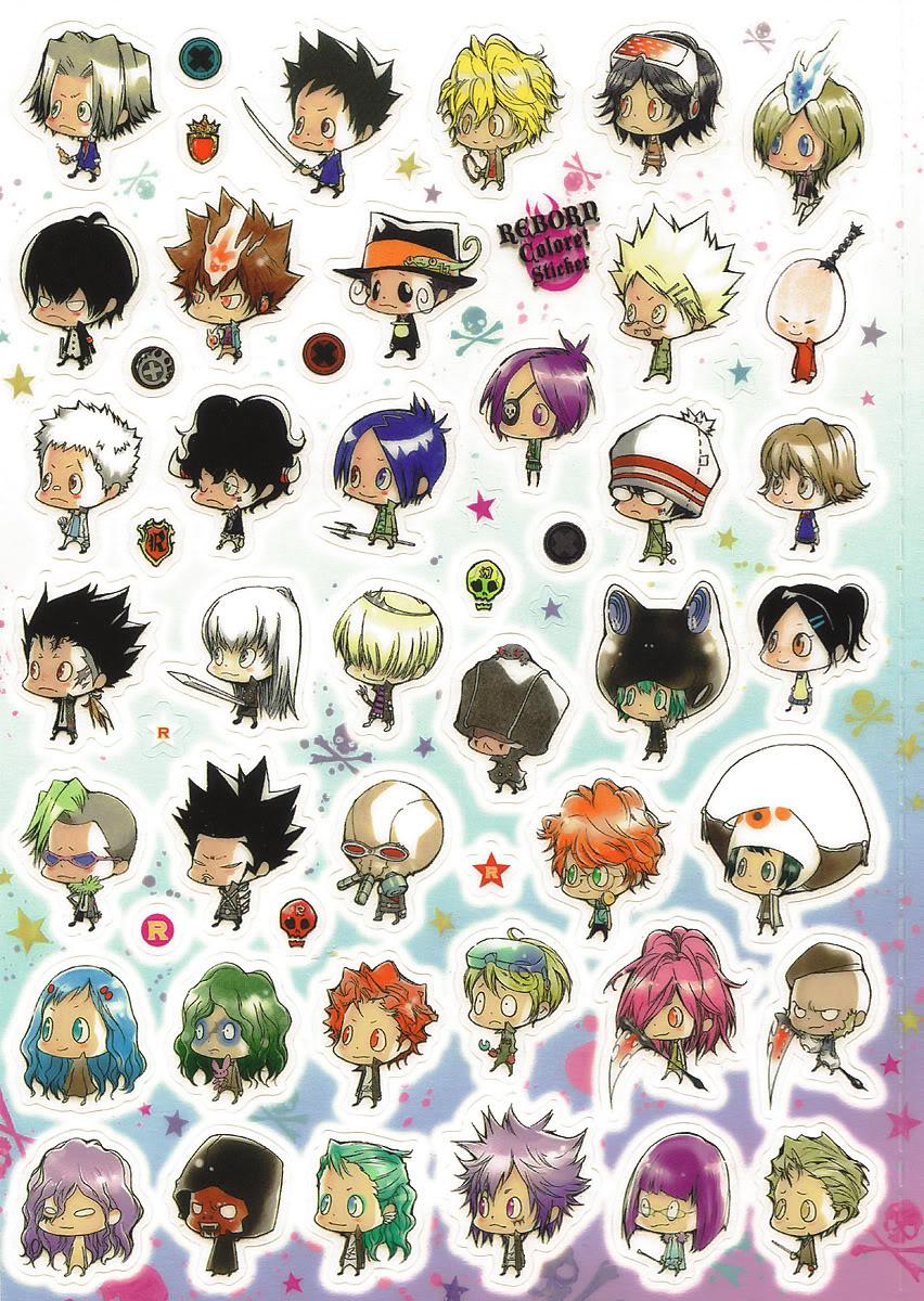 Anime Characters Chibi : Image colore chibi characters reborn wiki fandom