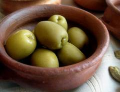 Sevillano olives