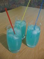 Cocktail blue lagoon