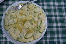 Fine zucchini