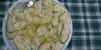 Carpaccio of Zucchini
