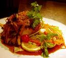 Herb-steamed Chilean Sea Bass
