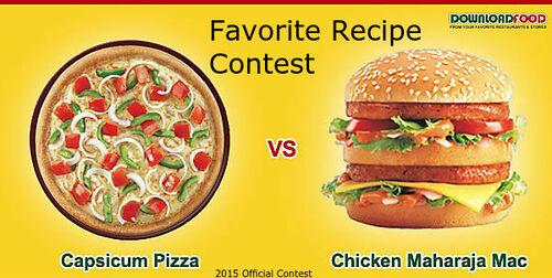 Favorite Recipe Contest 2015