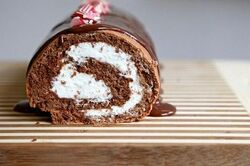 Peppermint log