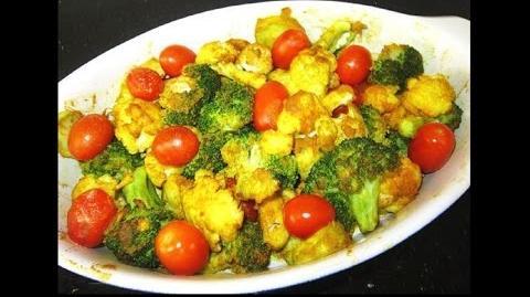 Fragrant Roasted Spices Veggies Salad Recipe