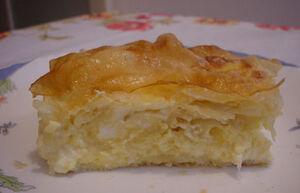 Cheese strudel pie - Gibanica