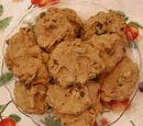 Banana Raisin Cookies