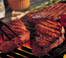 Sazon grilled steaks