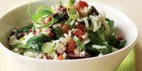 Greek Garden Rice Salad