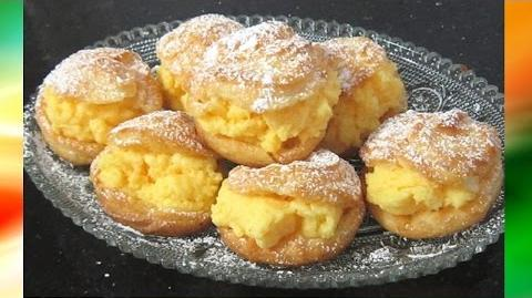 Fragrant And Tasty Mini Custard Puffs Recipe