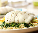 Lemon Rice-stuffed Sole
