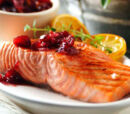 Grilled Salmon with Wild Berry Salsa