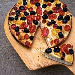 Tomato and Olive Focaccia3