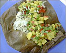 File:Sea Bass with Papaya Salsa.jpg