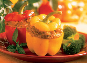 Cheddar-and-pumpkin-stuffed-peppers large