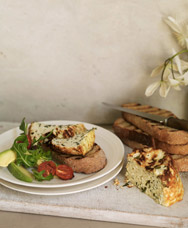 File:Baked Herb Ricotta and Roast Cherry Tomatoes.jpg