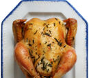 Roast Chicken in Salt Water Crust