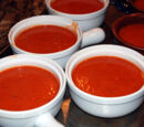Salty saucy tomato soup