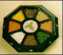 "Nine-section dish (""kujulpan"")"