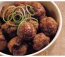 Jamaican Meat Balls