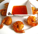 Coconut Shrimp with Sweet Chili Lime Sauce