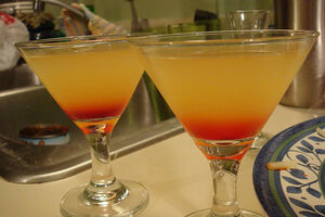 Pineapple Upside-Down Cake Drink image