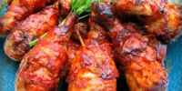 Barbeque Chicken with Barbados marinade