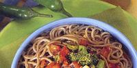 Soba Noodle Salad with Ginger-Peanut Dressing