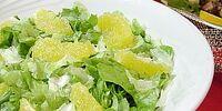 Vegetable Salad with Oranges