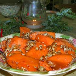 Maple Glazed Sweet Potato image