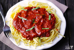 Pasta-with-Dark-Chocolate-Marinara-Sauce-1