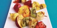 Grilled Strawberry Kiwi Kabobs