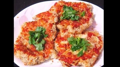 Flavorful Panko Bread Crumbs Chicken Recipe (With Tomato Sauce & Mozzarella Cheese)