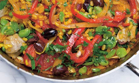 File:Multi-vegetable paella.jpg