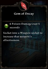 Gem of Decay