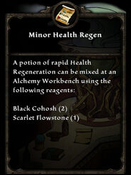 MinorHealthRegen