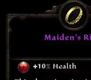 Maiden's Ring