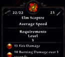 Elm Sceptre