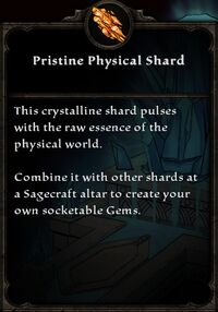 Pristine Physical Shard