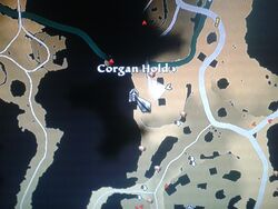 Corgan hold location