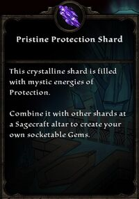 Pristine Protection Shard