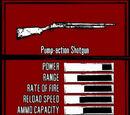 Pump-action Shotgun