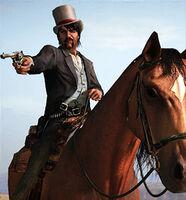 Rdr mo van barr horseback